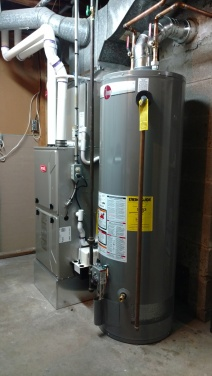Residential Furnace and Water Heater